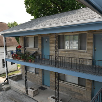 404 S Fess: 1 Bedroom / 1 Bath